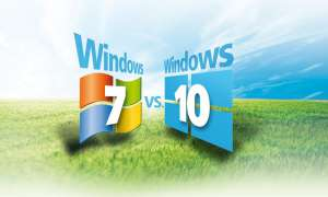 Windows 7 und Windows 10