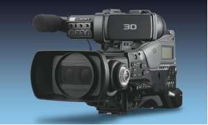 PMW-TD300-Sony - 3D-Schultercamcorder