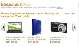 Acer Travelmate 5735Z-453G32Mnss, Western Digital WDBACX0010BBL My Passport Essential SE, Samsung BD-D5500 Bluray-Player, Casio Exilim EX-ZS10, Sony BRAVIA KDL-32EX715, Epson Stylus PX820FWD.amazon kw20