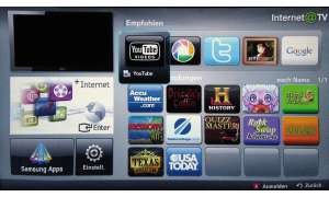 Samsung Internet@TV Screener