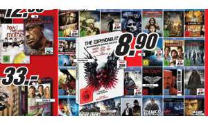 Media Markt Saturn Schnäppchen DVD Blu-ray VoD Download Film Movie Blockbuster expendables