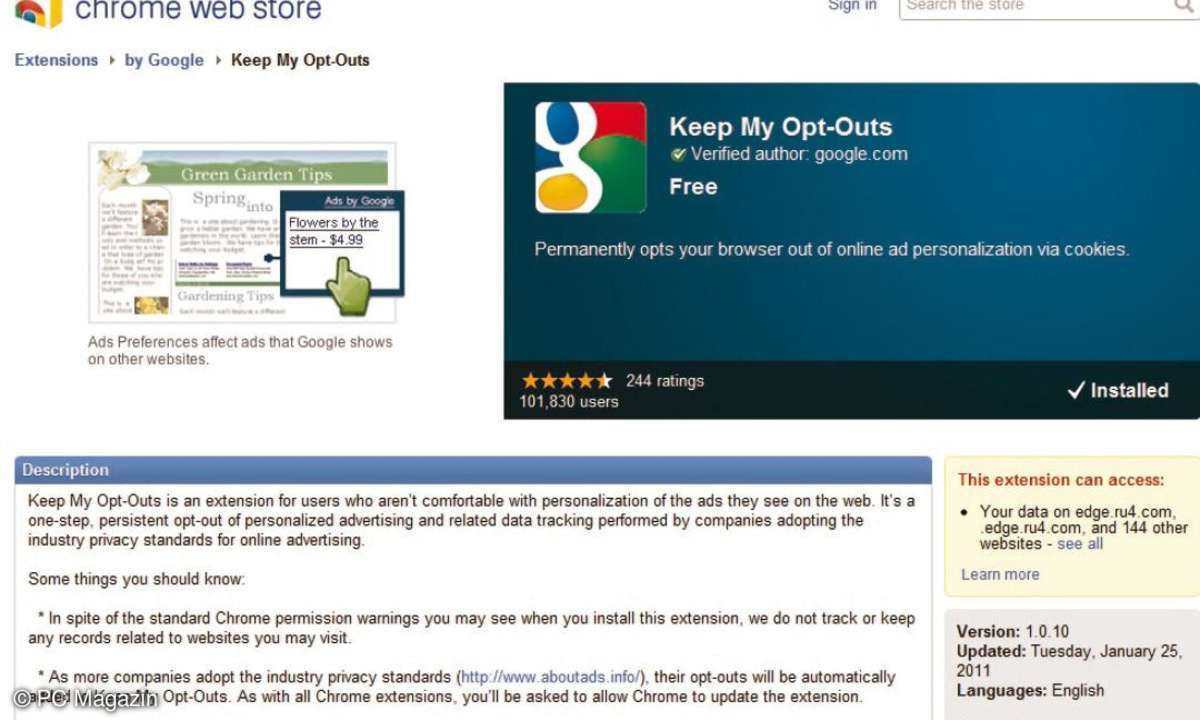 Keep My Opt-outs