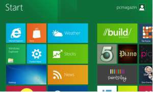 Windows 8 Developer Preview - Startscreen