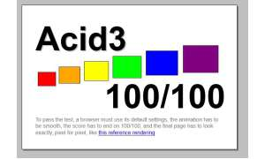 Acid3-Test Screenshot