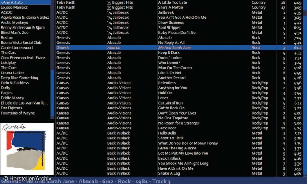 software, tools, musik-player, Quux