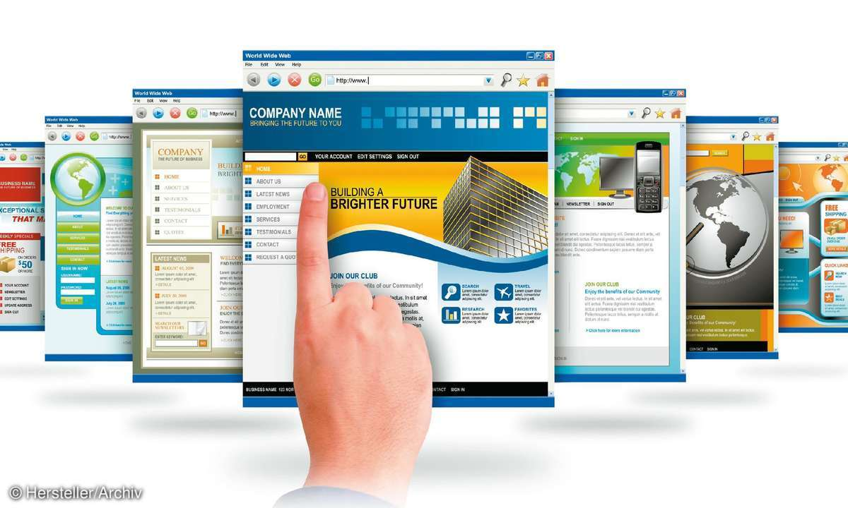 Corporate Design mit Masterpages