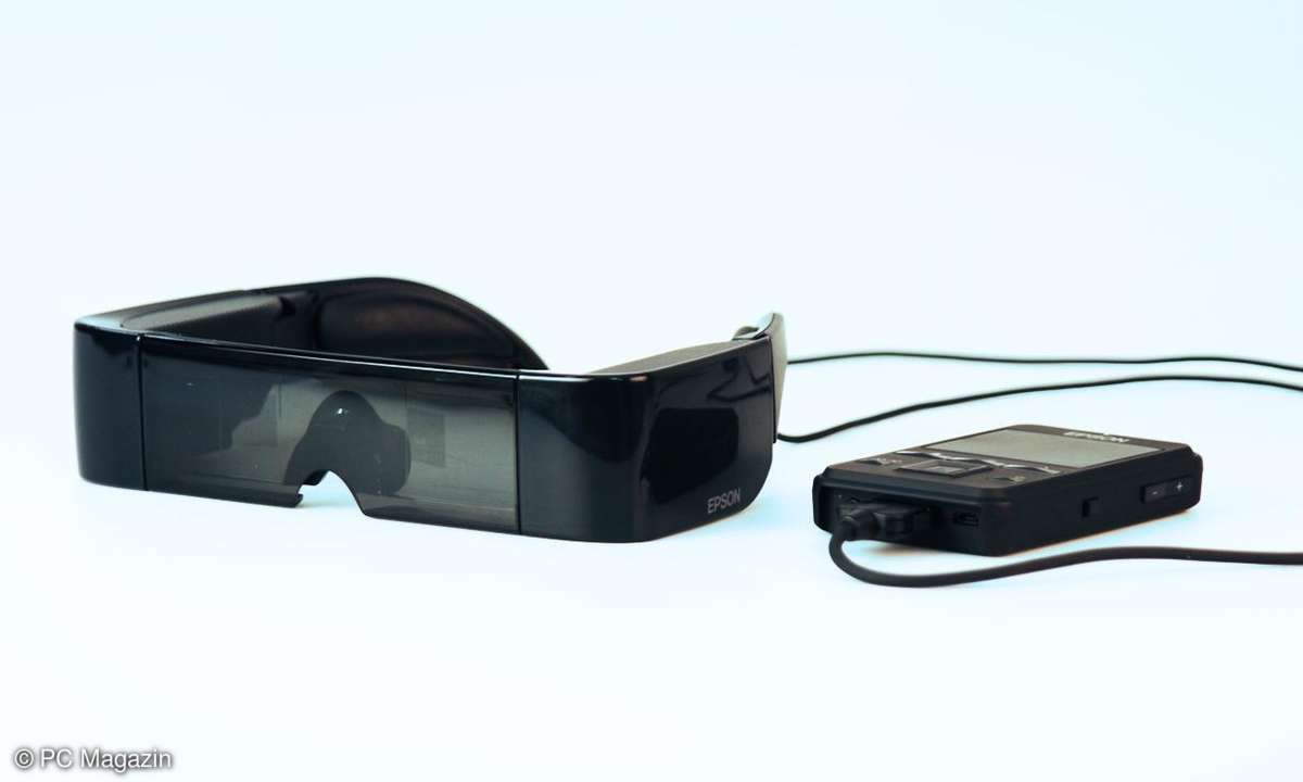 Epson 3D-Brille Moverio BT-100 Android