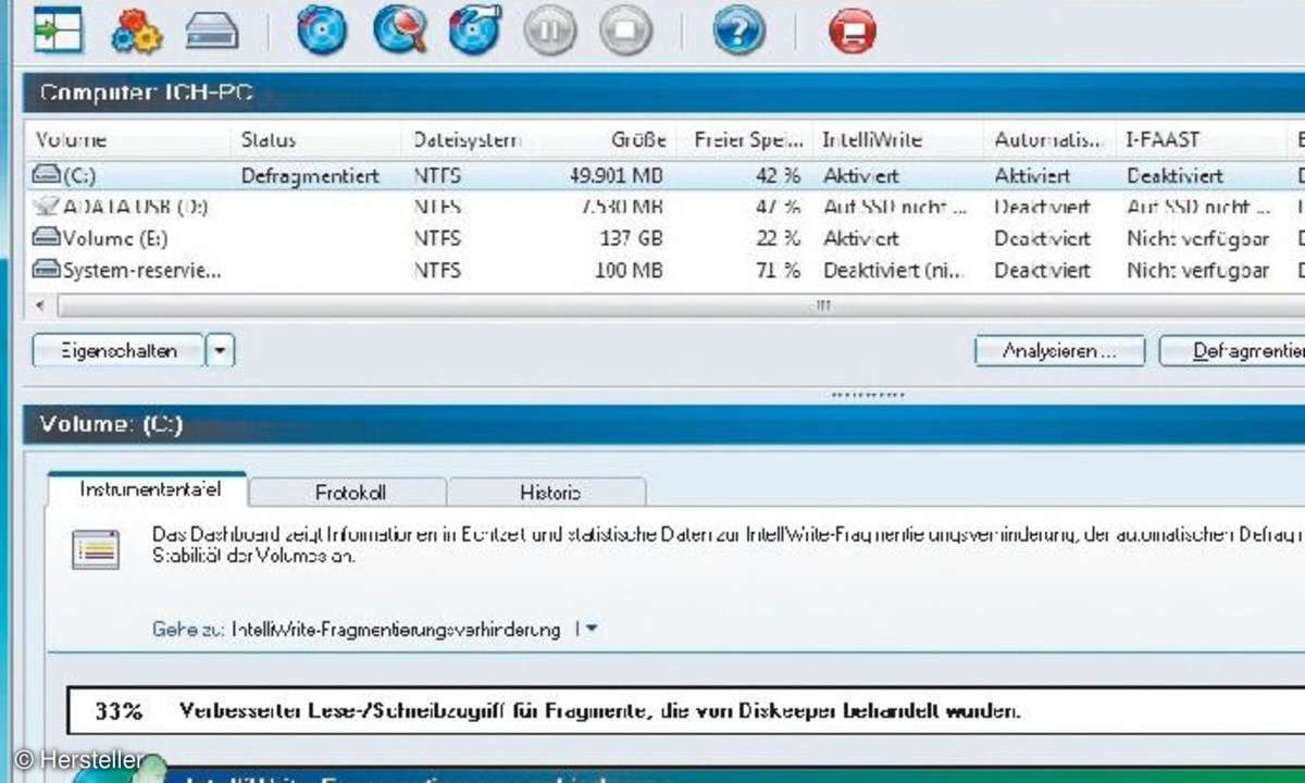 Diskeeper 2011 Professional
