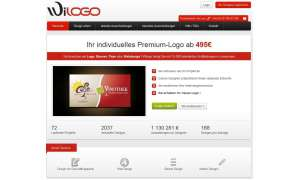 Wilogo Webseite, Screenshot