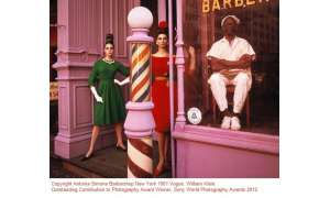Antonia Simone Barbershop New York 1961 Vogue