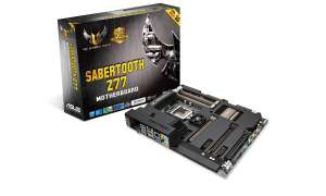 Asus: TUF SABERTOOTH Z77 Mainboard