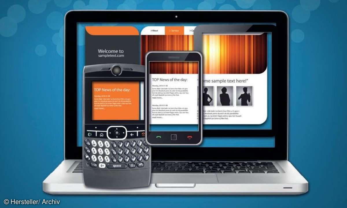 Mobile Webseiten mit jQuery Mobile