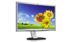 Philips LCD AMVA Monitor mit Webcam