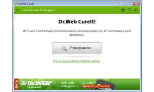 Dr. Web Antivirus-Software CureIt! 7.0