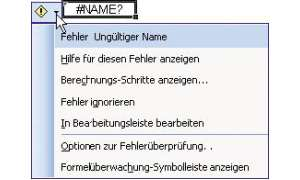 Excel-Formeln: Smarttags