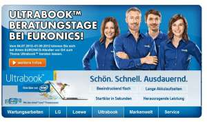 Euronics Ultrabook Beratungstage