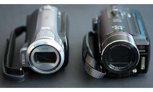 Panasonic vs. Canon HF-10