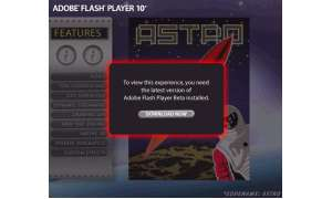 Flash Player 10 beta