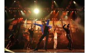 "Michael Jackson im Konzertfilm ""This Is It"""