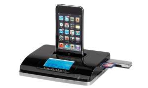 VR-Radio WLAN-Internetradio-Receiver mit iPod-Dock & MP3-Recorder