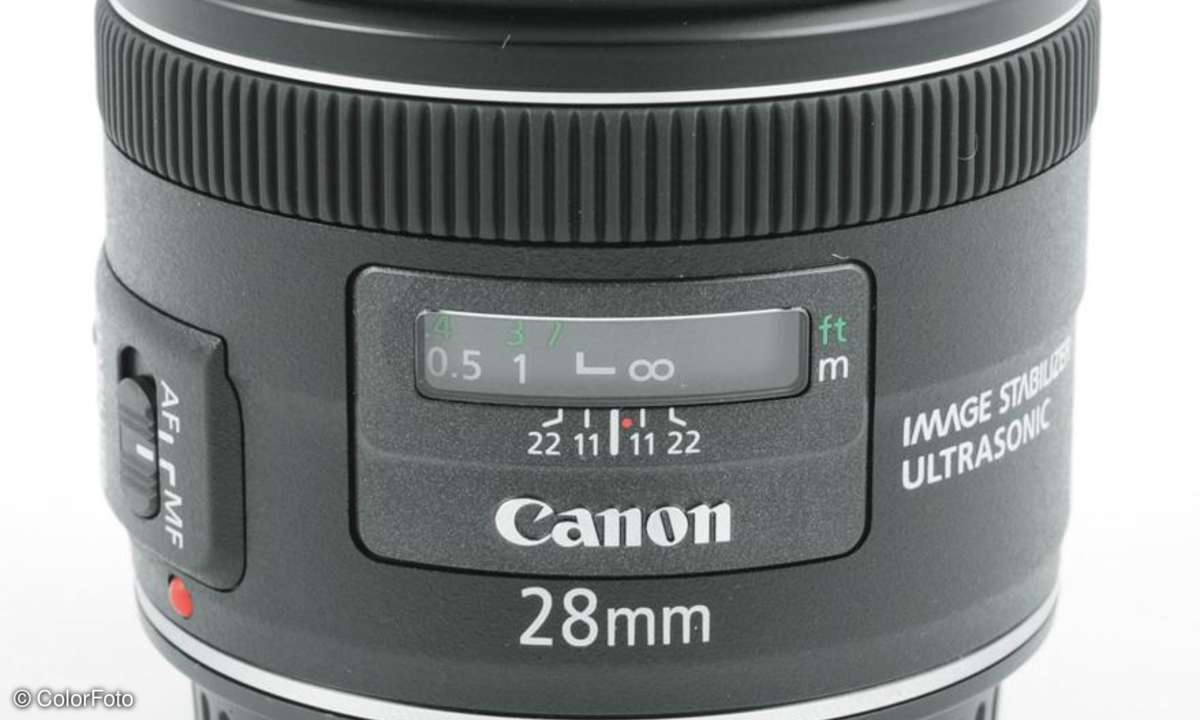 Canon EF 2,8/28 mm IS USM