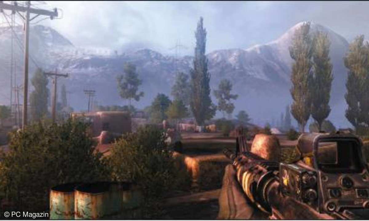 Spiele, test, Operation Flashpoint Red River