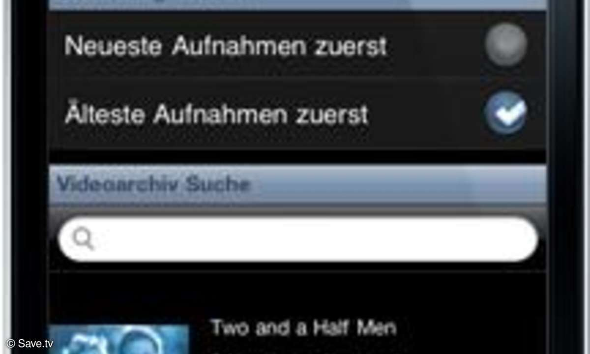save.tv test bewertung app iphone iOS android apple videorecorder online