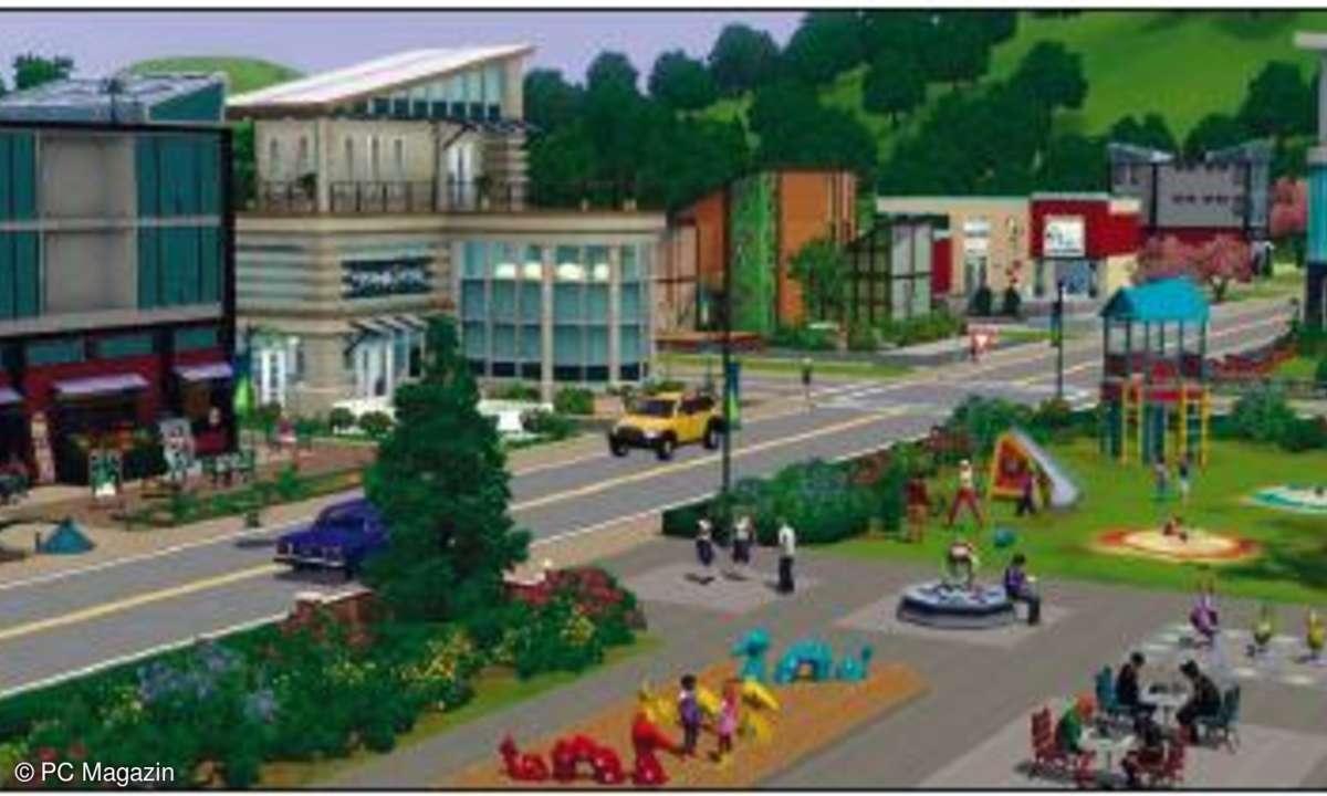Spiele, test, Haunted, Sims 3 Stadt Accessoires