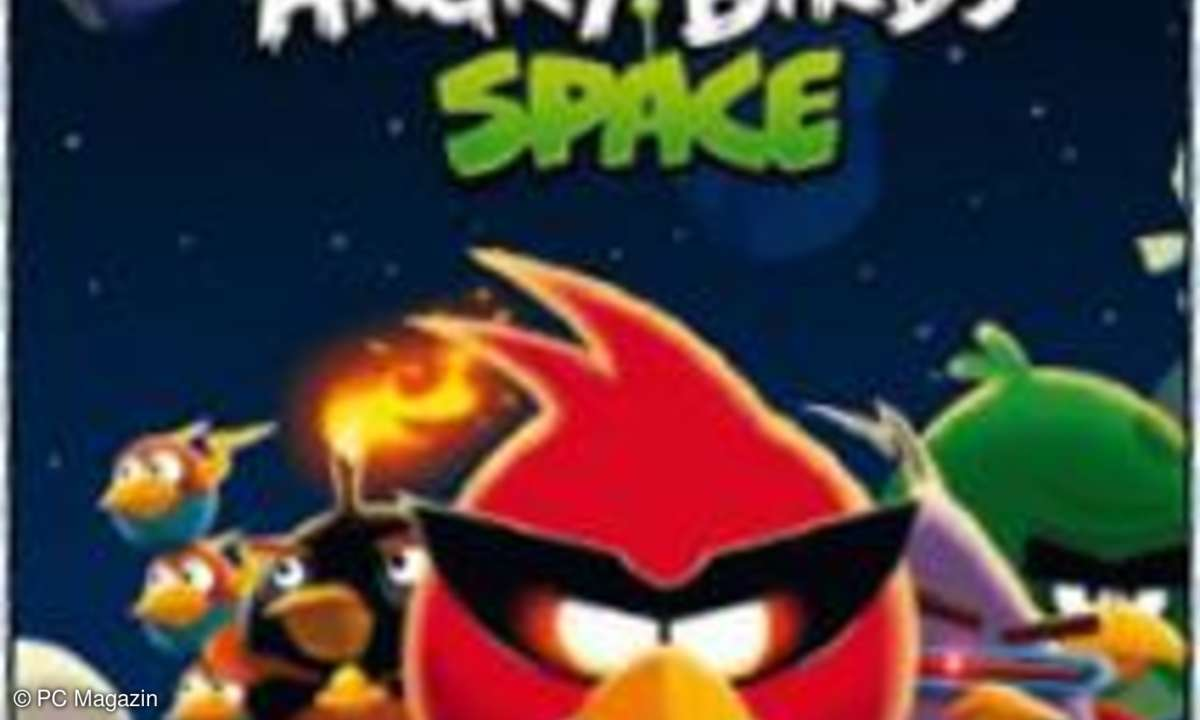 Spiele, test, Angry Birds Space