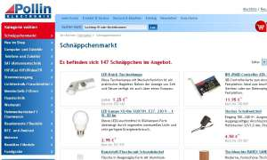 pollin.de-Screenshot