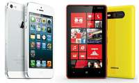 iPhone 5 vs. Lumia 9