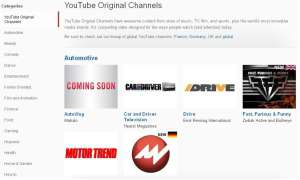 YouTube Original Channels
