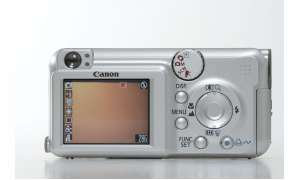 Canon Powershot A460 Display/Bedienelemente