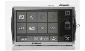Pentax Optio T30 Touchscreen-Display