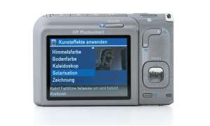 HP Photosmart R827 Bedienelemente