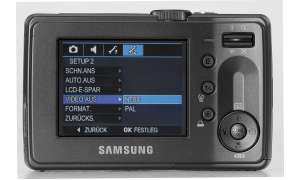 Samsung D70 Display