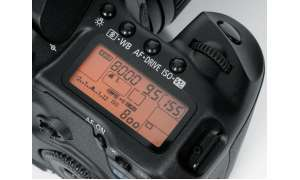 Canon EOS 40D Display