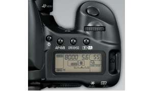 Canon EOS 30D Display