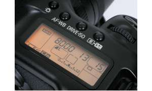 Canon EOS 5D Bedienelemente/ LC-Display