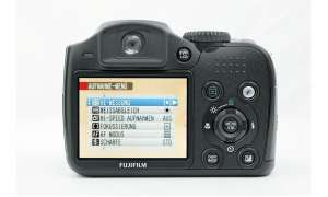Fuji Finepix S5800 Rückseite/ Display
