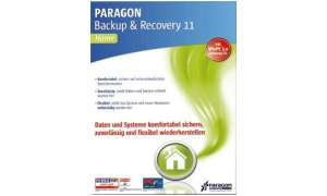 Paragon Backup & Recovery 11 Home, tools, software