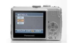 Panasonic Lumix DMC-LS75 Display