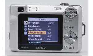 Sony Cybershot W100 Display