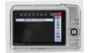 Casio Exilim EX-Z1200 Display