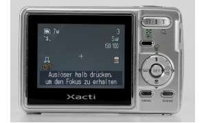 Sanyo Xacti VPC-S70 Display