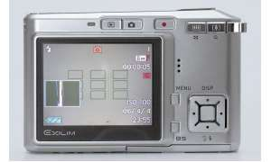 Casio Exilim EX-S600 Display