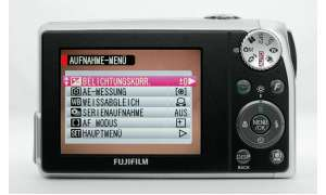 Fuji Finepix F47fd Rückseite/ Display