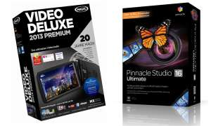 Pinnacle Studio Ultimate 16 vs. Magix Video deluxe 2013