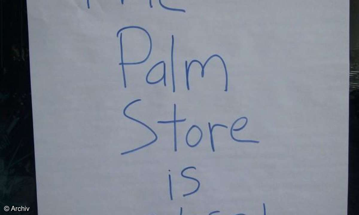 Palm Store closed