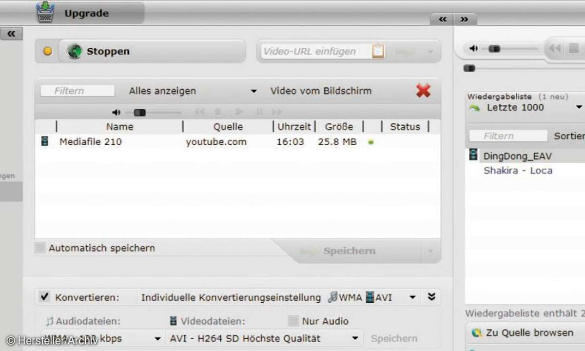 RapidSolution Software AG audials moviebox, software, tools